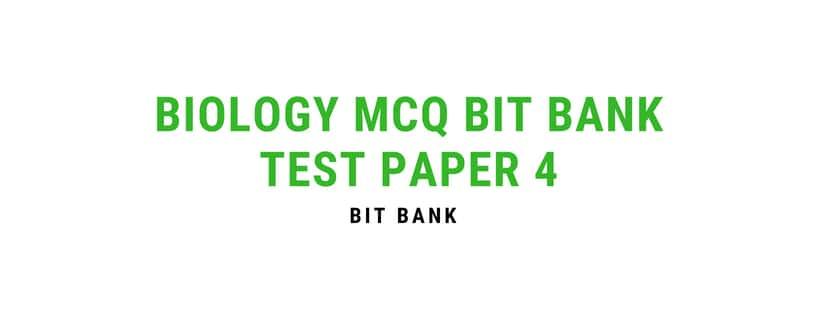 Biology MCQ gk questions