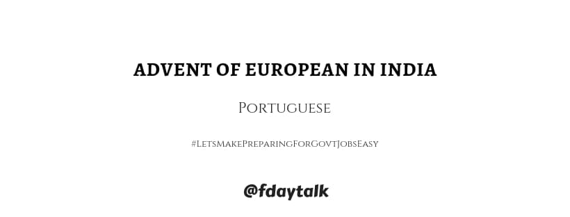 Portuguese settlements India