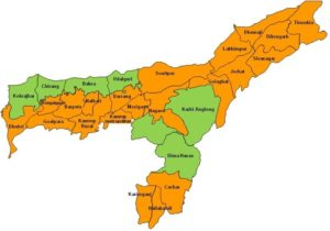 General knowledge of Assam