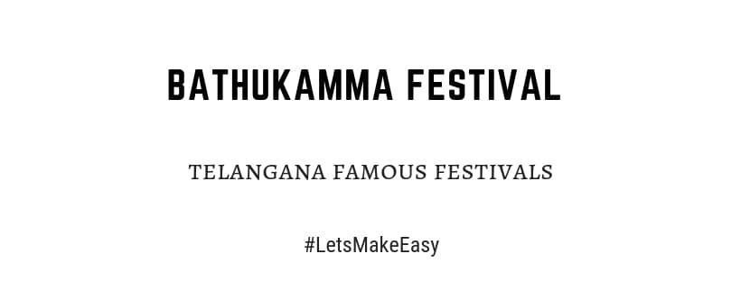 TelanganaBathukamma festival importance