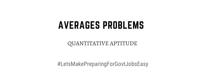 average problems with solutions pdf