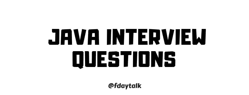 Java Technical Interview Questions And Answers For Freshers Pdf