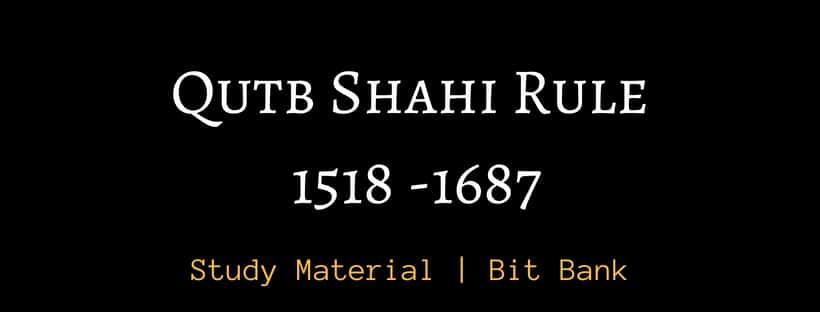 Qutb Shahi dynasty rule