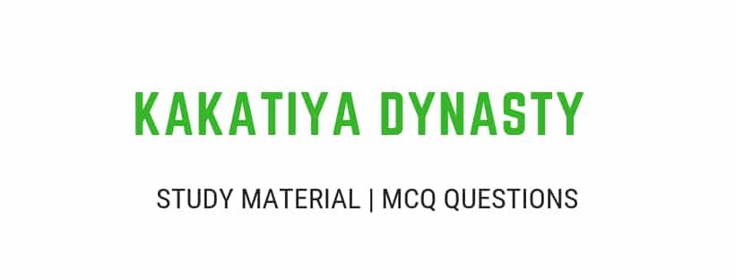 kakatiya history in english