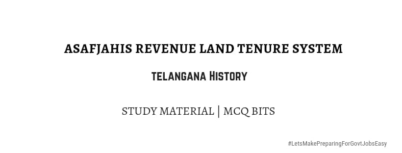 Asafjahis Rule revenue land tenure system