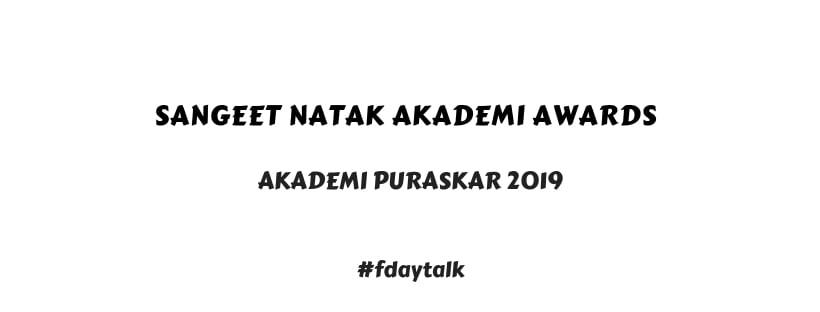 sangeet natak akademi awards 2019 pdf download