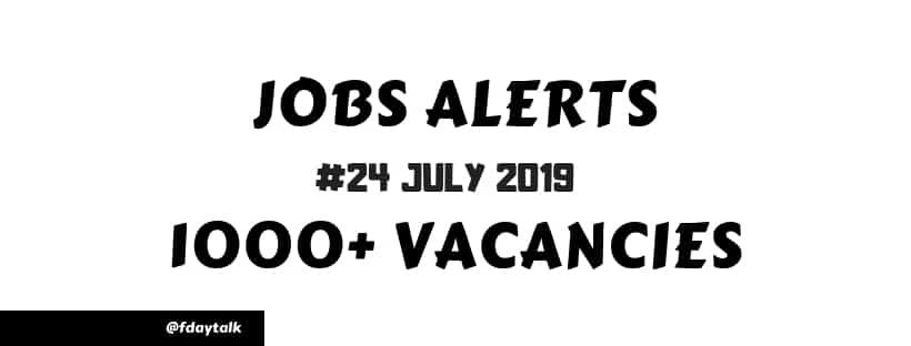 recent govt job recruitment