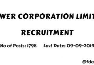 Punjab State Power Corporation Ltd recruitment 2019