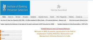 Latest IBPS CRP Clerks Recruitment 2020-21