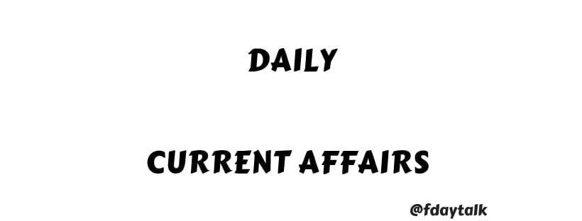 every day current affairs 2019