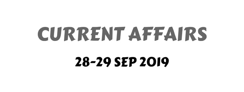 September Current Affairs Download
